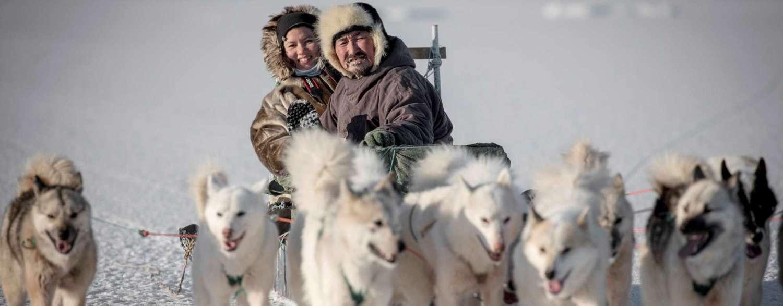Greenland Aurora & Husky Adventure