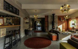 Abisko Mountain Lodge Lounge