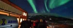 Northern Lights above Abisko Sweden