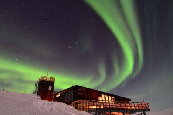 Frozen landscape, Abisko, Sweden