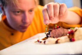 Cuisine at the Arctic Gourmet Cabin