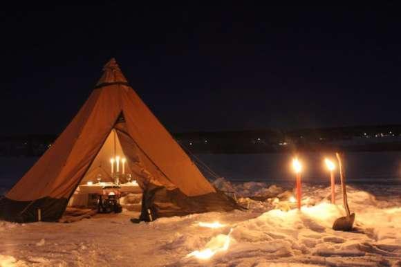 Hakan - reindeer sledding, Lapland
