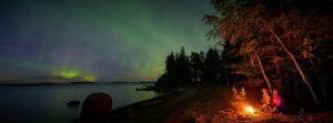Northern Lights Lulea Archipelago Sweden