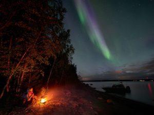 Northern Lights Lulea Sweden