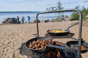 Island Lunch Lulea Archipelago Sweden