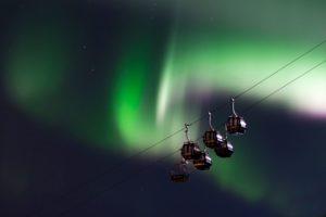 Gondolas in Narvik - Copyright JanArnePettersen