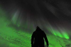 Northern Lights hunting Sweden