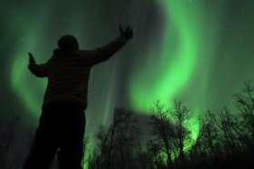 Northern Lights display in Lapland