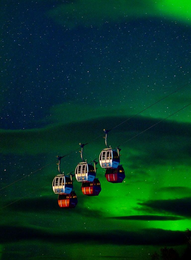 Norwegian Lapland Auroras
