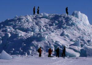 Pack ice snowmobile tour lulea archipelago