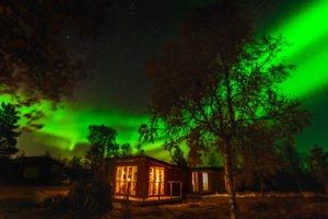 Arctic Gourmet Wilderness Cabins Kiruna Sweden