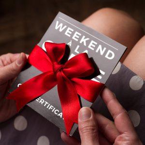 Weekend a la Carte Gift Certificate
