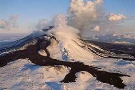 Mount Hekla in Iceland
