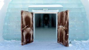 Ice Hotel Sweden Door