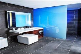 Bathroom in Silica Hotel, Iceland