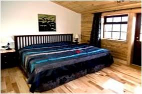 Double standard room at Hotel Ranga, Iceland