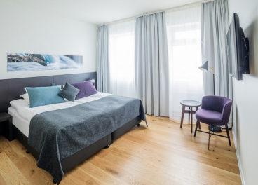 Bedroom in FossHotel, Reykjavik, Iceland