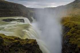 Thundering Gullfoss Waterfall, Iceland