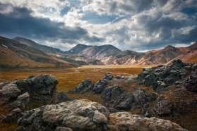 Stunning landscape of the highlands, Iceland