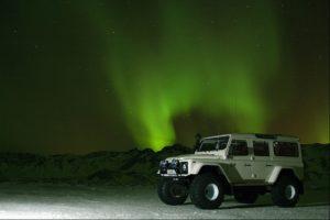 Northern Lights SuperJeep hunt, Iceland