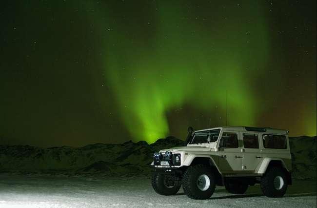 Icelandic Aurora over the Golden Circle