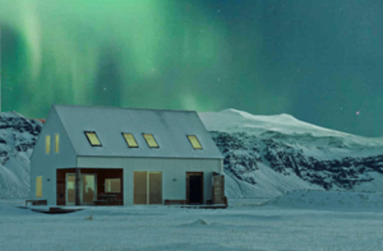 Northern Lights Wilderness Cabin Iceland Escape