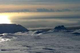 SuperJeep tour up the Eyjafjallajokull volcano in Iceland