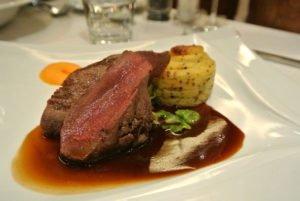Amazing dinner at the Aurora Sky Station in Abisko