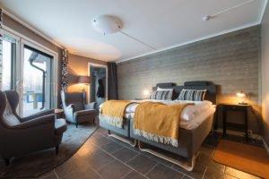 Superior room At Abisko Mountain lodge