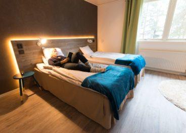 Room at Pine Bay Lodge Lulea