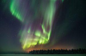Multi colour northern lights i