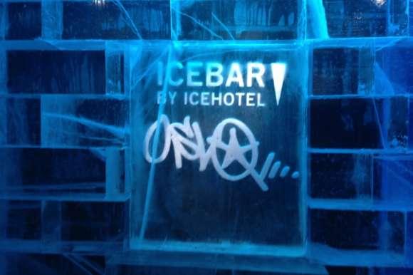 ice bar icehotel swedish lapland