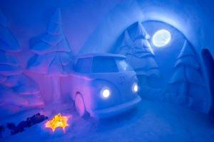 Spruce woods Art Suite Ice Hotel Sweden