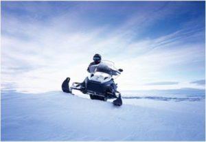 Snowmobiling in Reykjavik, Iceland