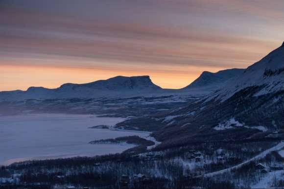 Stunning sky, Abisko, Sweden