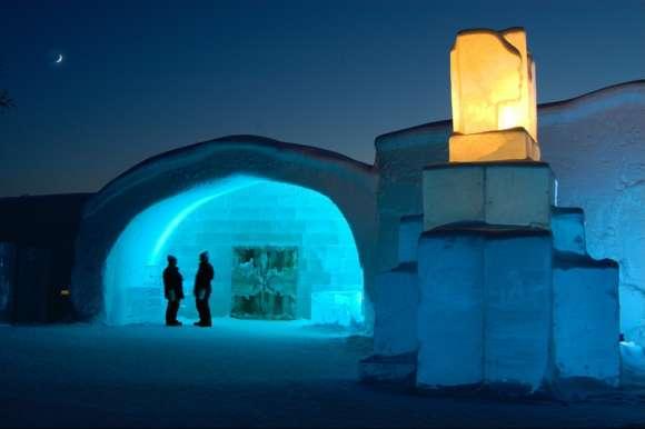 IceHotel entrance, Sweden