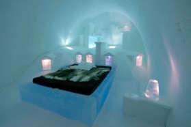 IceHotel cold room, Sweden