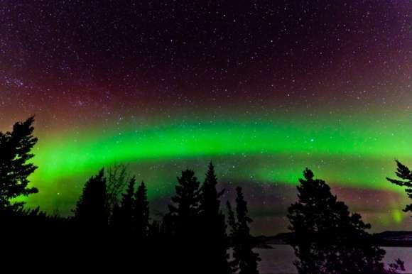 Stars and Aurora in Abisko