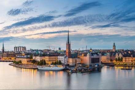 Harbour area, Stockholm, Sweden