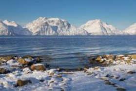 Views across the fjords near Narvik