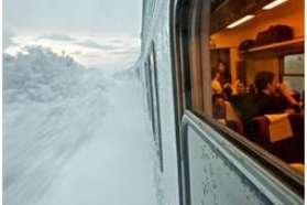 train in lapland