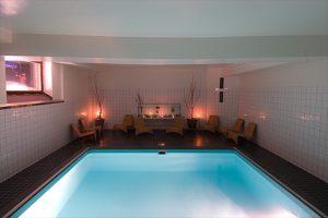 Pool at Arctic Eden Hotel Kiruna