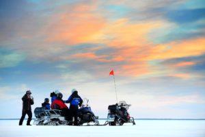 Pack Ice Snowmobile Adventure Lulea Archipelago