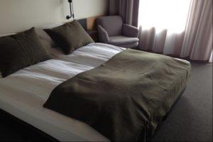Bedroom in Foss Hotel Myvatn in Iceland