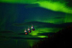 The Aurora Gondolas in Narvik
