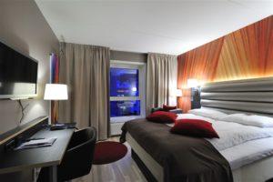 Grand Hotel Narvik bedroom