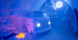 CAMPER VAN ART SUITE ICE HOTEL
