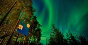 MIRROR CUBE TREE HOTEL SWEDEN