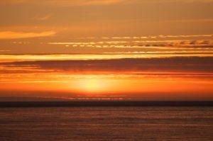 Sunset over Norwegian Sea