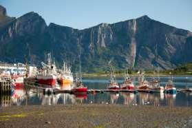 Fishing Boats Lofoten Islands